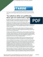 Notitarde_Salud_entrevista2082011