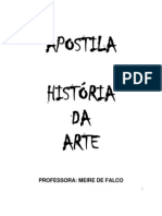 Apostila de Artes - Pronta