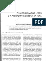 As Circunstâncias Legais e a Aplicação Centrífuga da Pena
