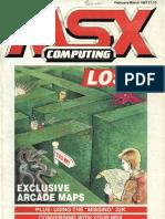 MSX Computing - Feb-Mar 1987