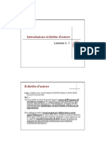 Introduzione Al Diritto Dautore