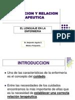 Comunicación y relación terapéutica[1].