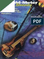BASS Guitar - Odd-Meter Bassics-BOOK CD