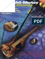 BASS Guitar - Odd-Meter Bassics-BOOK CD