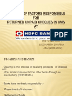 Analysis of Factors Responsible For