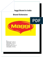 The Maggi Brand in India