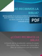 Bibliología I