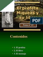 Profeta Miqueas