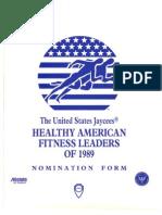 Healthy American Fitness Leaders