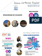 EIAT2011_Program at Glance