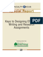 Report Keys to Designing Effective Writing