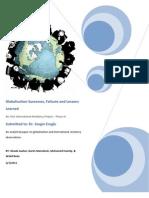 Globalization Group Project GhadaKarimMohamedWalid