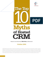 10 Myths of Hosted CRM Whitepaper