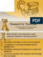 Research Review Power Point