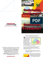 Sustainable Development or Sustainable Freedom by Freedom21
