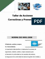 Acciones Correctivas Preventivas ISO