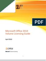 Office 2010 Volume Licensing Guide