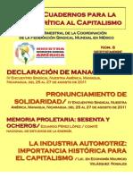 Cuadernos para la Crítica al Capitalismo #8
