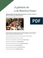 Este Es El Gabinete de Gobierno de Mauricio Funes