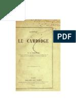 Lettre Sur Le Cambodge 1878