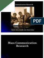 Mass Communication Researchcompleto