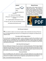 Newsletter 9-19-11