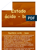 Estado Acido Base