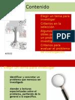 Eleccion Del Tema y Plant. Del Problema
