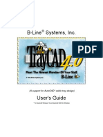 TrayCad4.0 User Manual