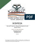 MGNREGA Final Report