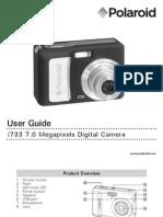Polaroid i733 Camera User Manual