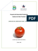 analisis tomate