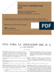BENDER Emagister - Test Guestaltico Visomotor(Material de Prueba)