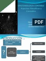 EPISTEMOLOGÍA CONTABLE Aspectos Filosóficos y Contables - GRUP 7