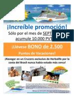 Volante Promo Sept Vacaciones Lationolvidables 2011