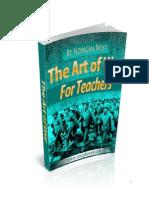 The Art of War for Teachers by Nzingha West