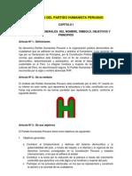 Estatuto Del Partido Humanista Peruano-Actualizado (2)