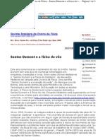 Santos Dumont e a Física do Vôo