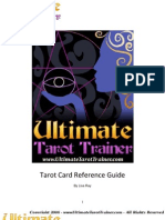 UTT Tarot Card Reference Guide