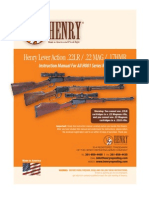 Henry Lever Action - H001 Series Rifles