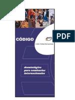 Código deontológico de los Comisarios Internacionales