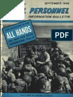 All Hands Naval Bulletin - Sep 1943