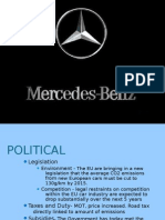 mercedes benz pestle analysis