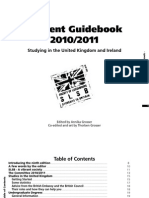 SLSB Student Guidebook 2010