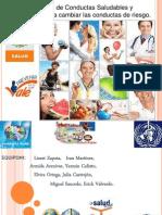 Modelos de Conductas Saludables y Estrategias Para Cambiar