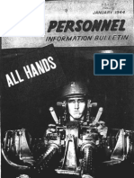 All Hands Naval Bulletin - Jan 1944