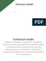 Continuum_model in Leadership