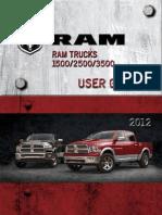 2012 Ram Truck User Guide
