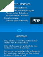 JAVAL Interfaces