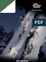 Lowe Alpine FW2009 Pack